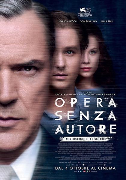 """Il film """"Opera senza autore"""" mostra come il fanatismo genera mostri che solo l'arte e l'amore possono sconfiggere"""