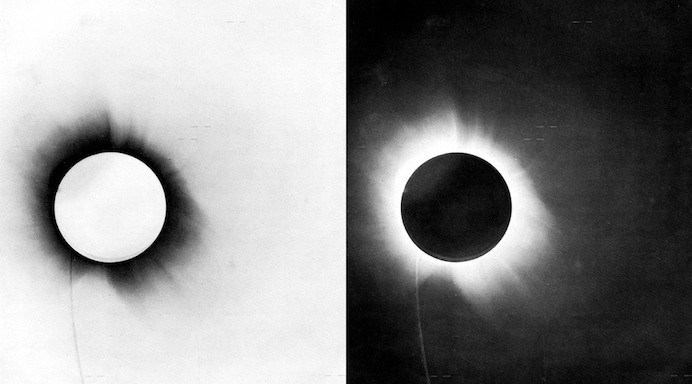 La conferma della Teoria della Relatività Generale di Albert Einstein avvenne un secolo fa in seguito all'eclissi totale di sole