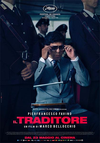 """""""Il traditore"""" con realismo e precisa perspicacia descrive la narrazione avvincente della collaborazione del pentito Tommaso Buscetta che ha fatto vacillare l'organizzazione mafiosa Cosa Nostra"""