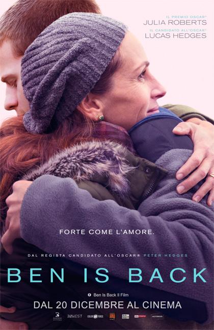 """""""Ben is Back"""", partendo dal problema della droga, fa un'analisi della forza sconfinata e passionale dell'amore materno"""