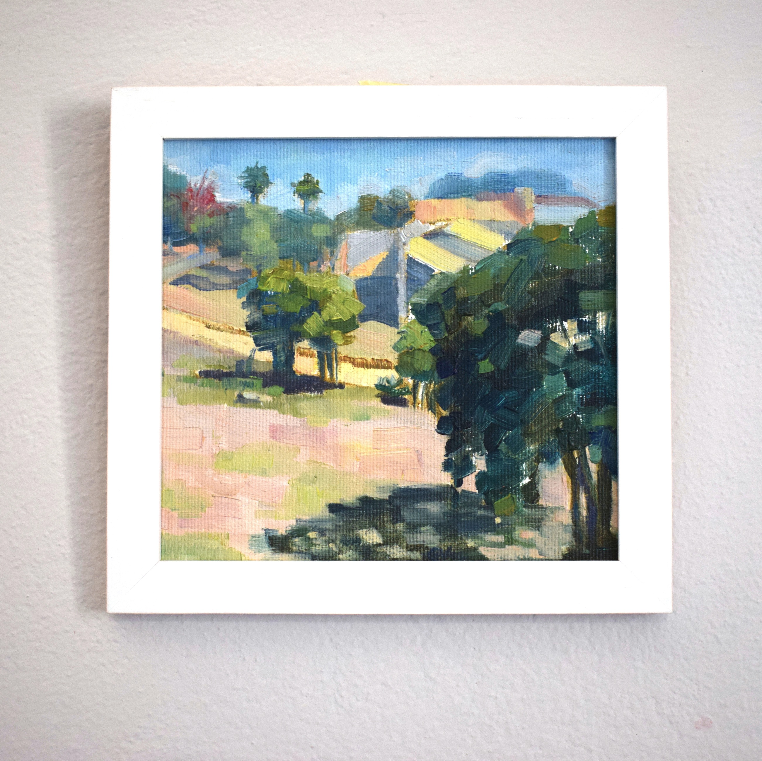 Original plein air paintings from Brazil
