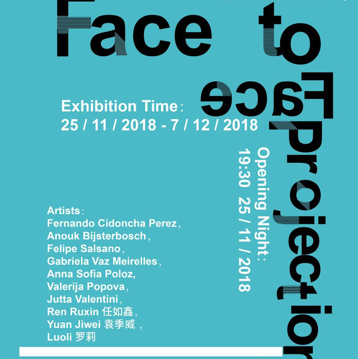 "Introduction: ""Face to Face Projections"" – Exhibition in Florence"