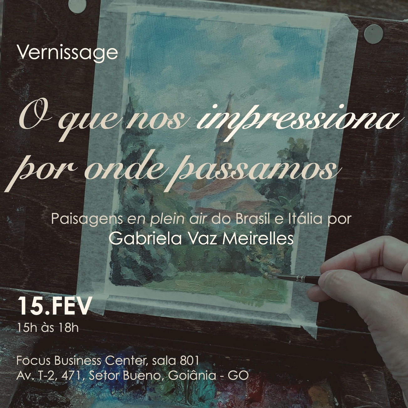 "Introduction: ""O que nos impressiona por onde passamos"" – Exhibition in Goiânia"