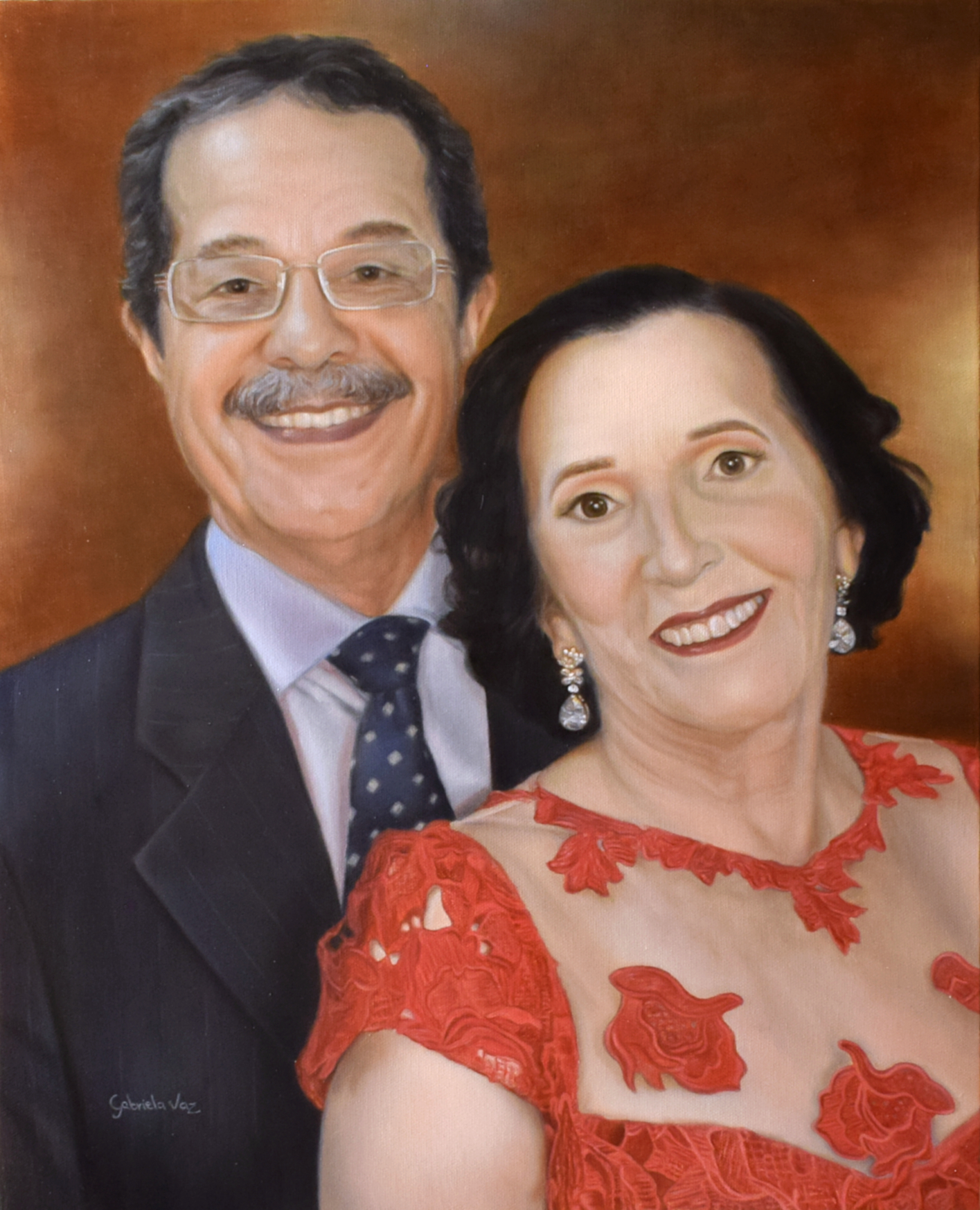 Ana e Joel, oil on canvas, 50 x 40 cm, 2020