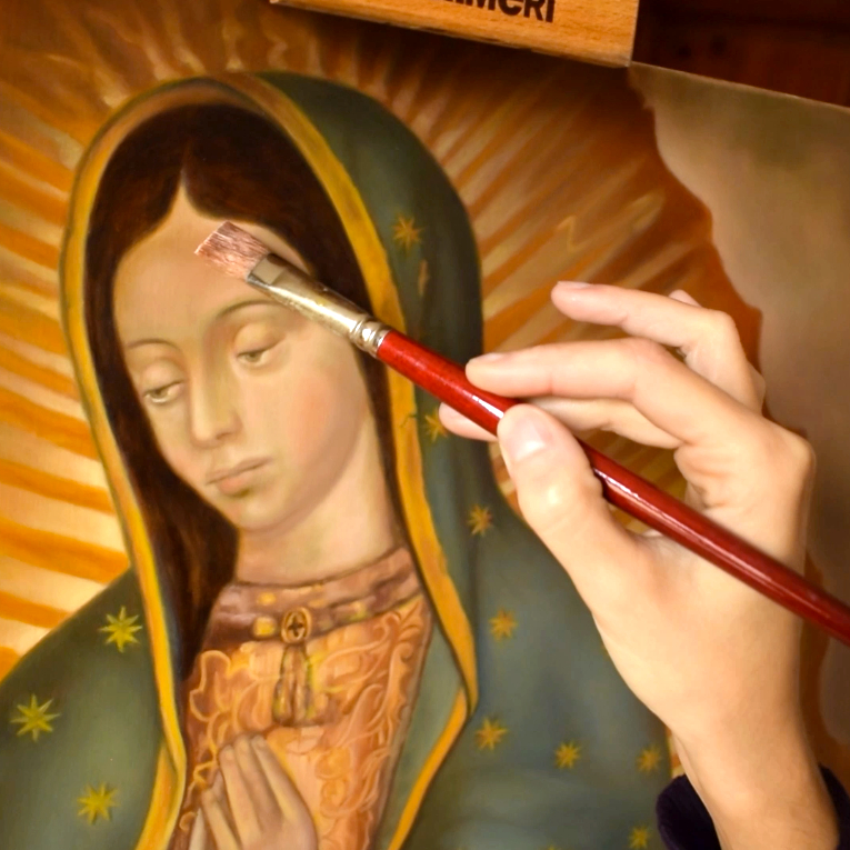 The mistery of the image of Our Lady of Guadalupe | 2020