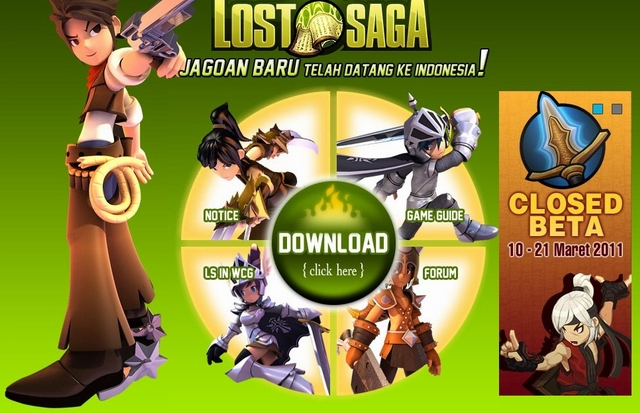 Lost Saga Gemscool Game Online Indonesia