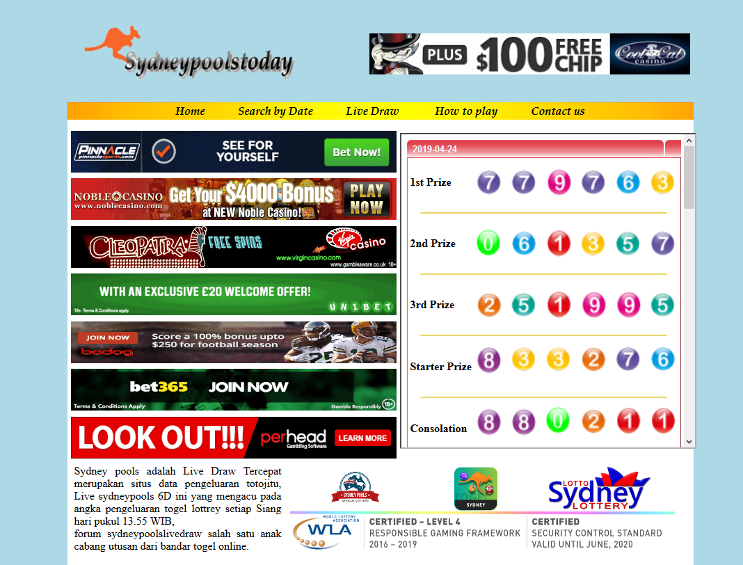livedraw sydney Archivi - Togel Hongkong | Hongkong Pools | Result