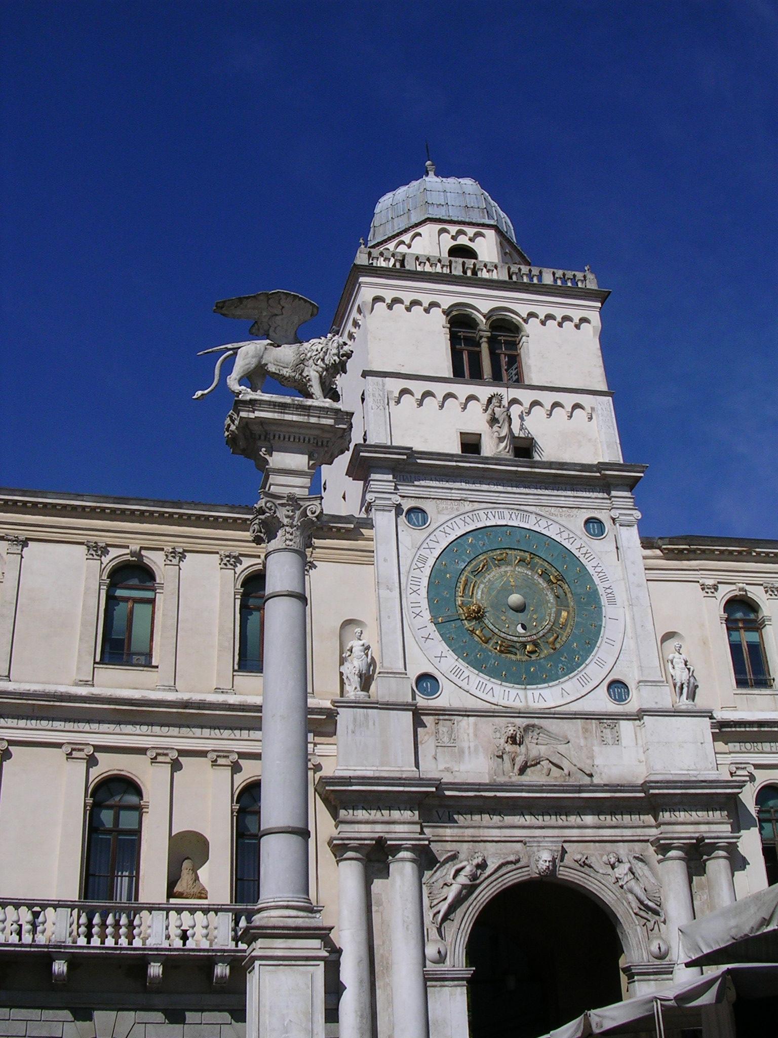 L'Orologio Astronomico di Padova e la sua Torre